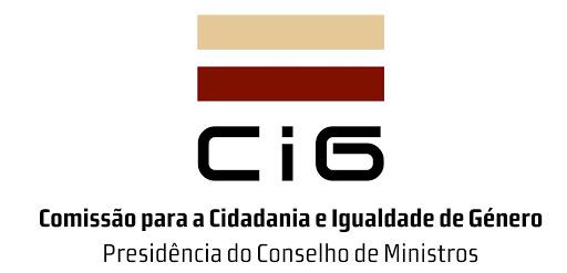 Logótipo da Comissão para a Cidadania e a Igualdade de Género