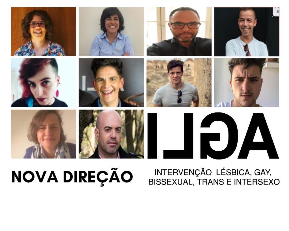 Fotografias da nova direção da ILGA Portugal