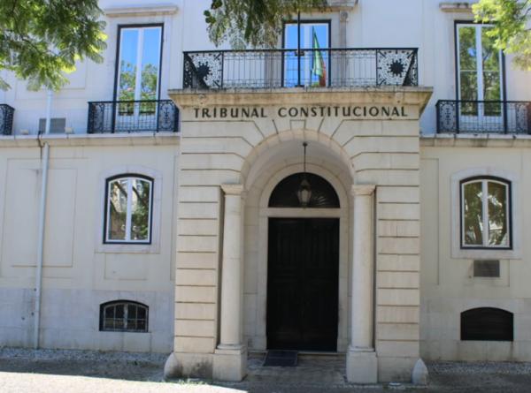 Fotografia da sede do Tribunal Constitucional, em Lisboa